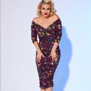 Laura Byrnes Melissa wiggle dress 2x